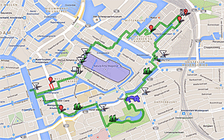 Thumbnail map of Oosterpark, Eastern Islands, and the Kadijken Walk Amsterdam